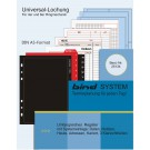 Bind B25134 Systemeinlage Startpaket MANAGER PLUS A5 Aussenansicht
